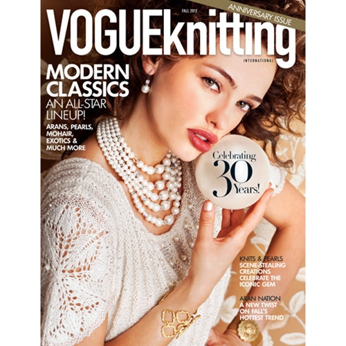 Vogue Knitting 2012 Fall: 30th Anniversary Issue