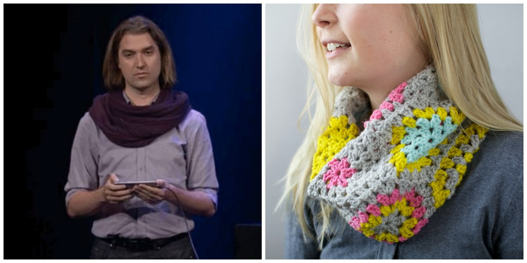Be Your Own Scarf Guy Knit A Cowl Own The Internet Creativebug