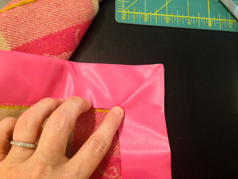 How to Sew On Satin Edging at Creativebug